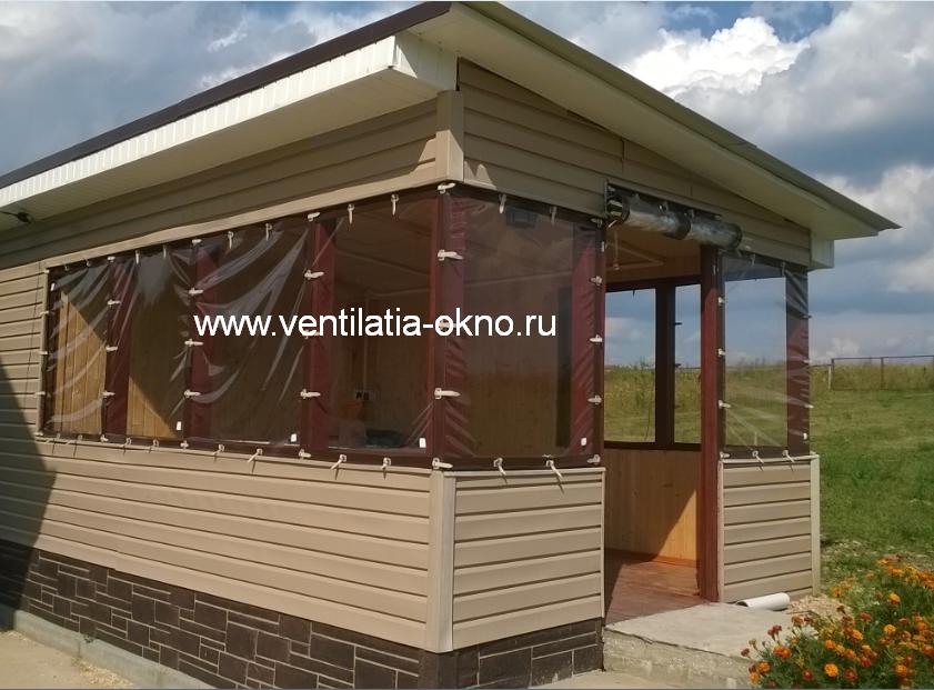 Прозрачные, мягкие шторы на беседки,террас, веранд и летние кафе